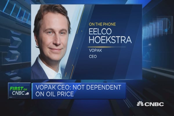 Too early to tell where oil market will move to: Vopak CEO