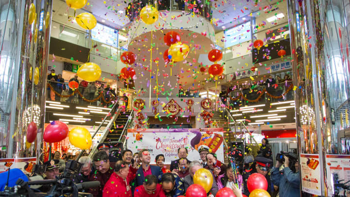 2017's Lunar New Year celebrations in Toronto, Canada.