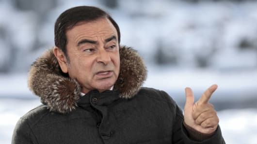 Carlos Ghosn, chairman of the alliance between Renault SA, Nissan Motor Co. and Mitsubishi Motors Corp.