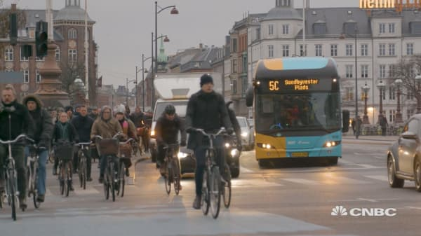 The way we move around towns and cities is changing: Here's how