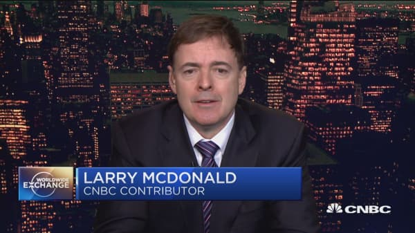 Larry McDonald of Bear Traps Report gives his take on the bond market.