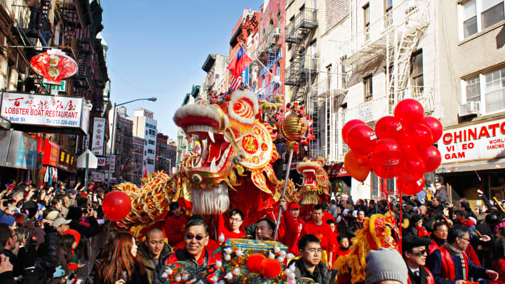 New York's Lunar New Year celebrations.