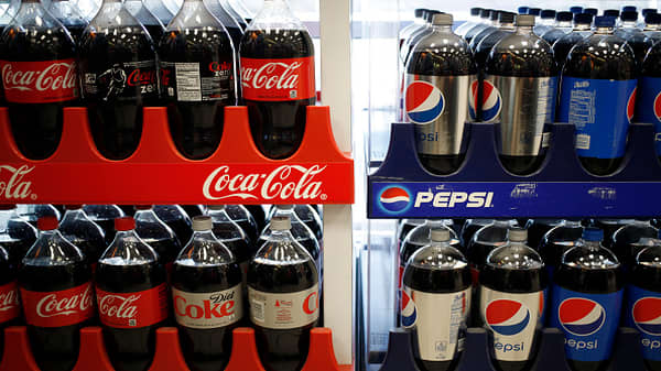 Jim Cramer: Cola wars have ended, so everyone's making money