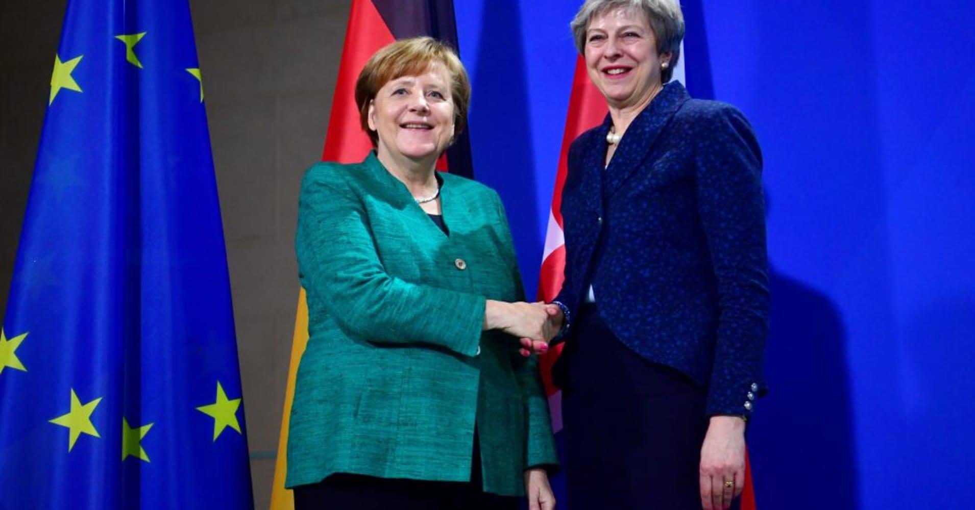 Brexit deal should strike 'fair balance,' says Germany's Merkel