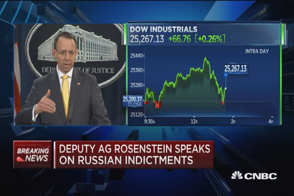 Deputy AG Rosenstein: No evidence election results were impacted