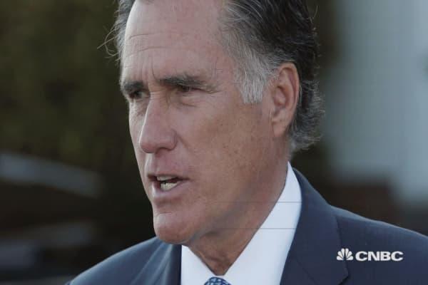 Mitt Romney runs for Utah Senate seat