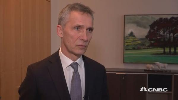 UK 'extremely important' for NATO, Secretary General Stoltenberg says
