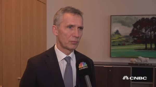 Stoltenberg: Need to strengthen cyber defenses, counter disinformation