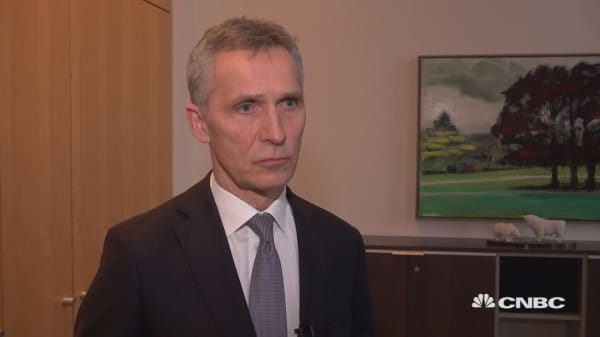 Stoltenberg: Planning to scale up training activities in Iraq