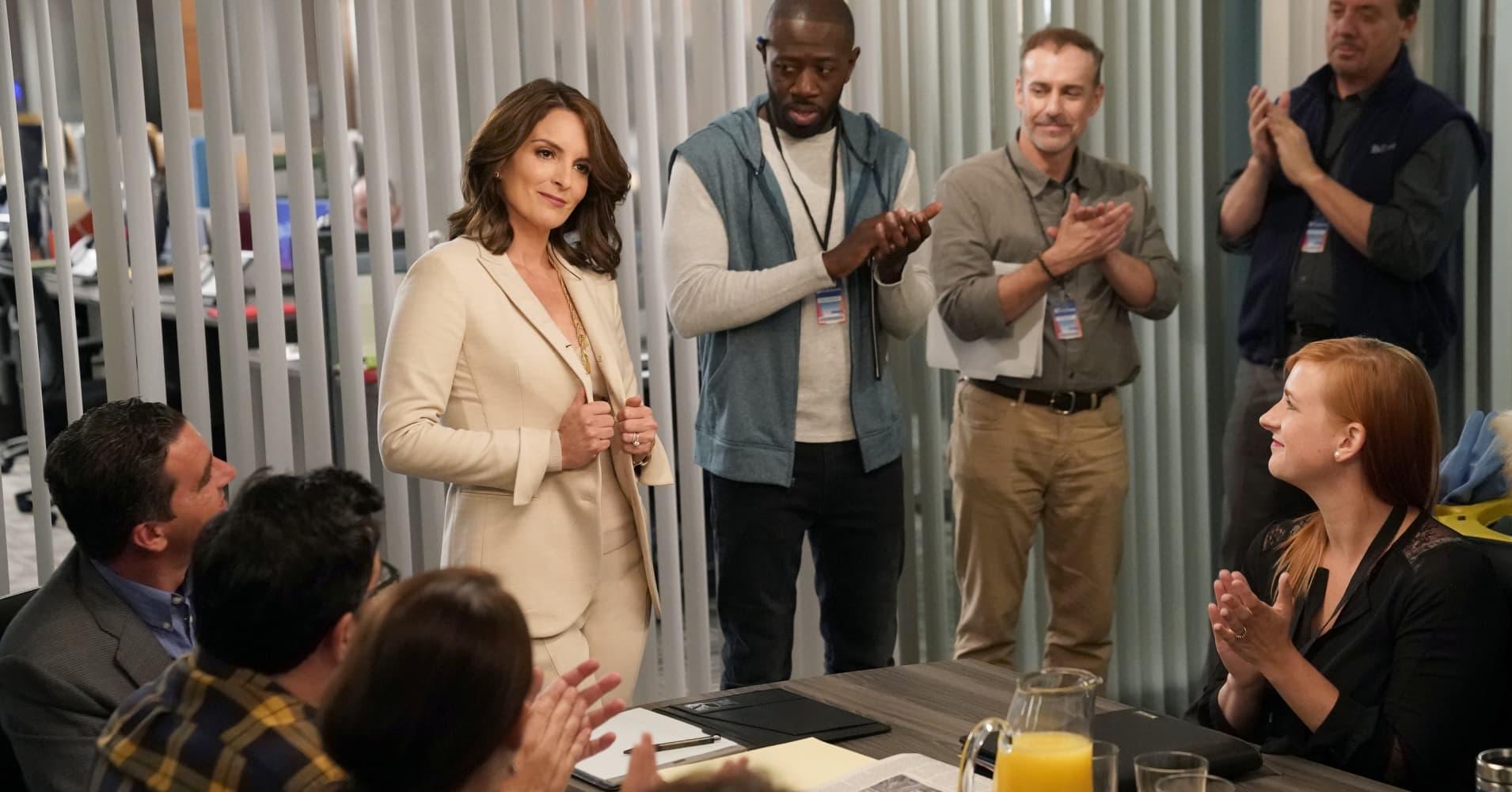 "Tina Fey as Diana on ""Great News"""