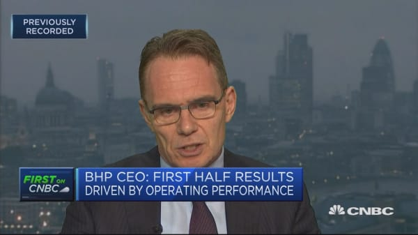 BHP CEO: Working patiently with board on dual listing