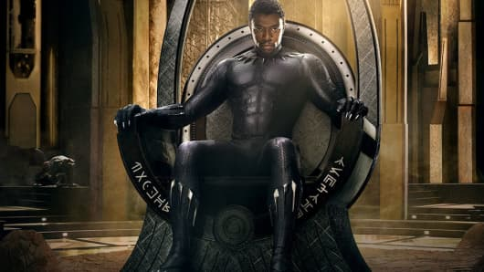 Disney Marvel Studios blockbuster success 'Black Panther,' the No. 1 film at the 2018 box office, is aiming for the Oscars Best Picture critical acclaim that has long been denied to superhero films.