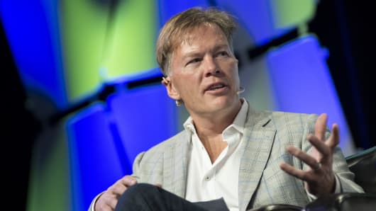 Dan Morehead, founder and chief executive officer of Pantera Capital.