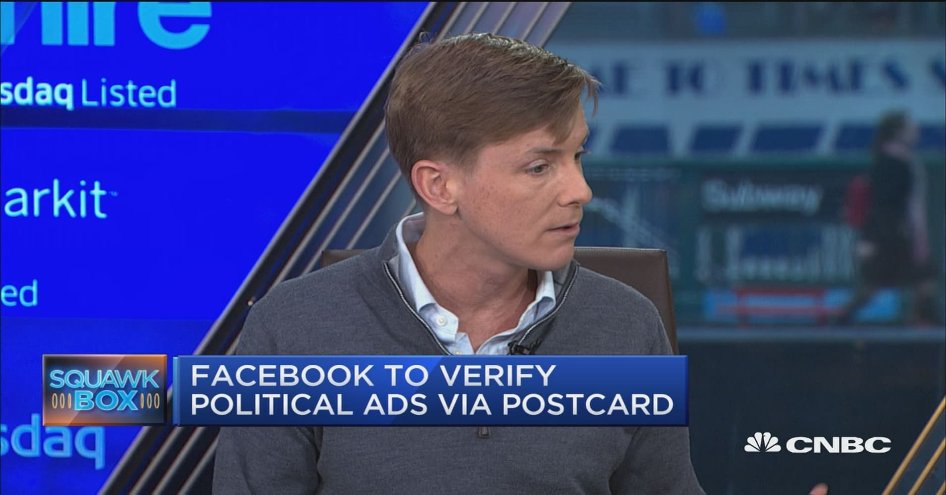 Postcard verification is 'step in the right direction': Facebook co-founder