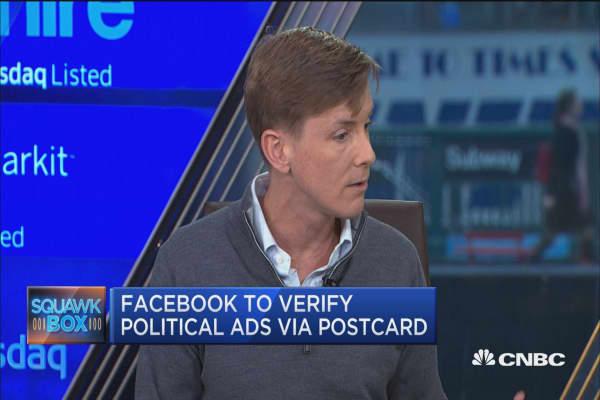 Facebook to verify political ads via postcard