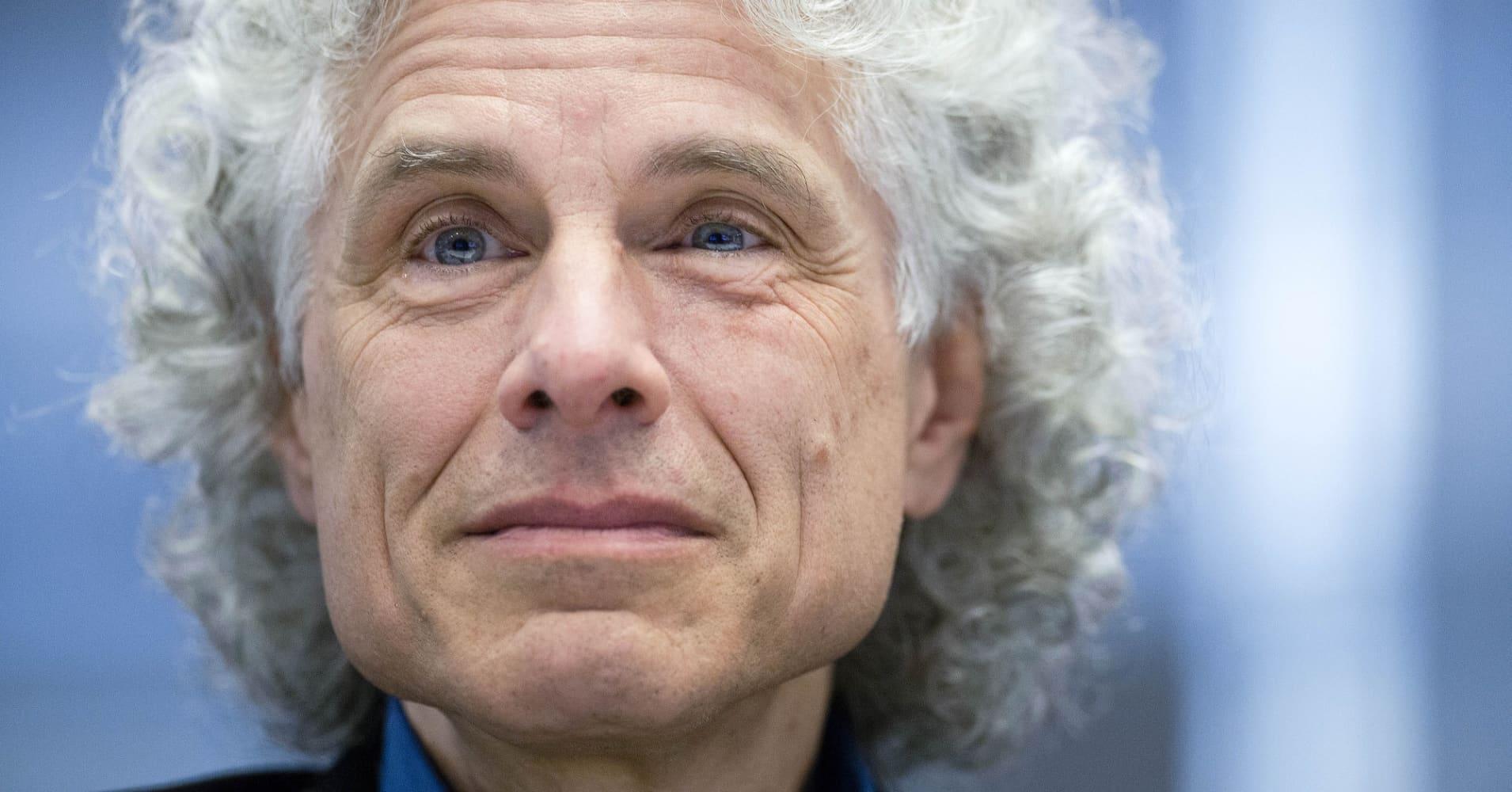 Harvard psychologist Steven Pinker