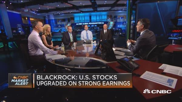 Traders debate BlackRock's US stocks call