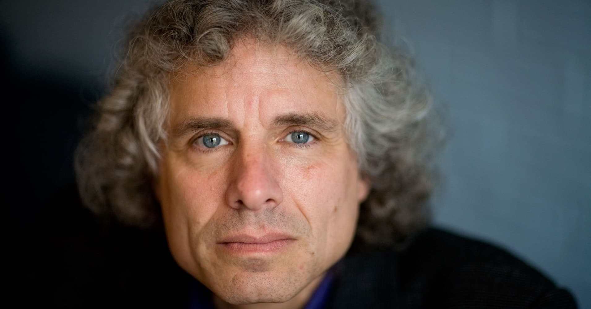 Author and psychologist Steven Pinker