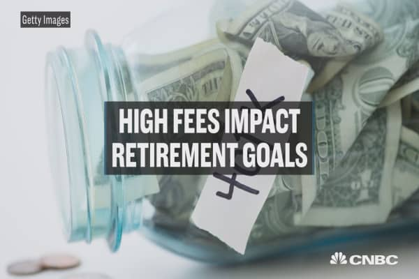 How fees can impact retirement goals