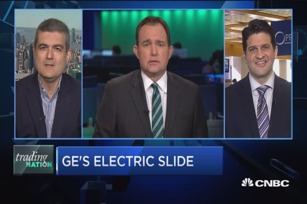 Trading Nation: GE's electric slide