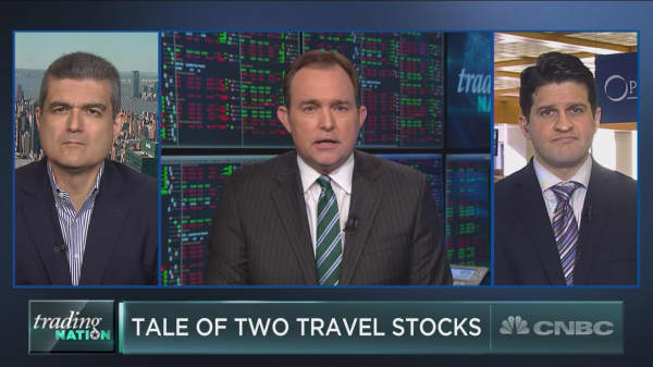 A tale of two travel stocks