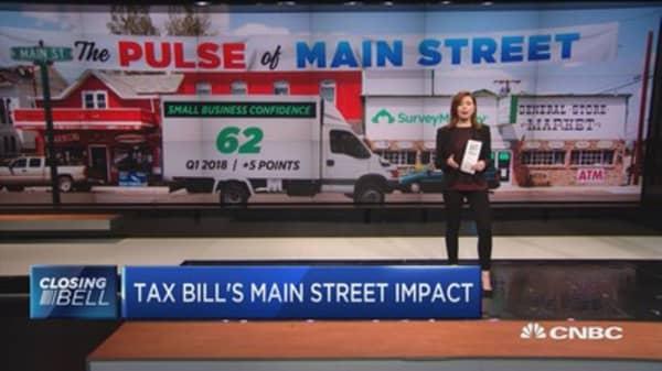 Tax bill's Main Street impact