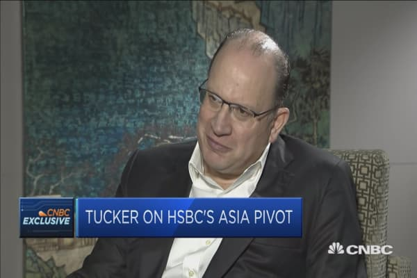 HSBC chairman says the 'pivot' is still to Asia