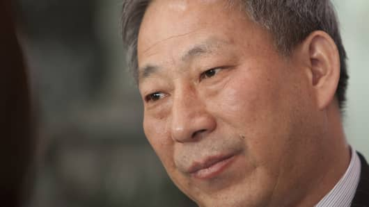 Yan Jiehe, founder of China Pacific Construction Group
