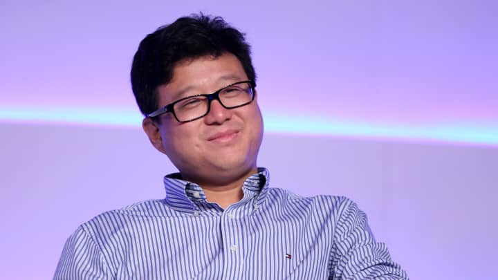 Ding Lei, founder and CEO of netease.com, at the China Internet Conference 2011
