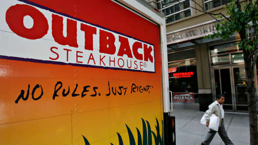 Activist Calls On Bloomin Brands To Spin Off Outback Steakhouse
