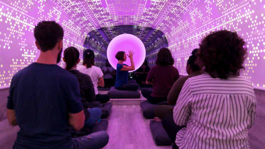 Be Time is a mobile meditation studio in New York City.