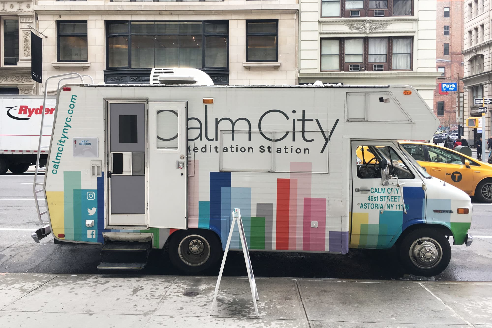 Mobile meditation studios on the rise offering a chance to de stress