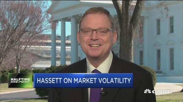 CEA Chair Hassett: Keeping a close eye on government debt