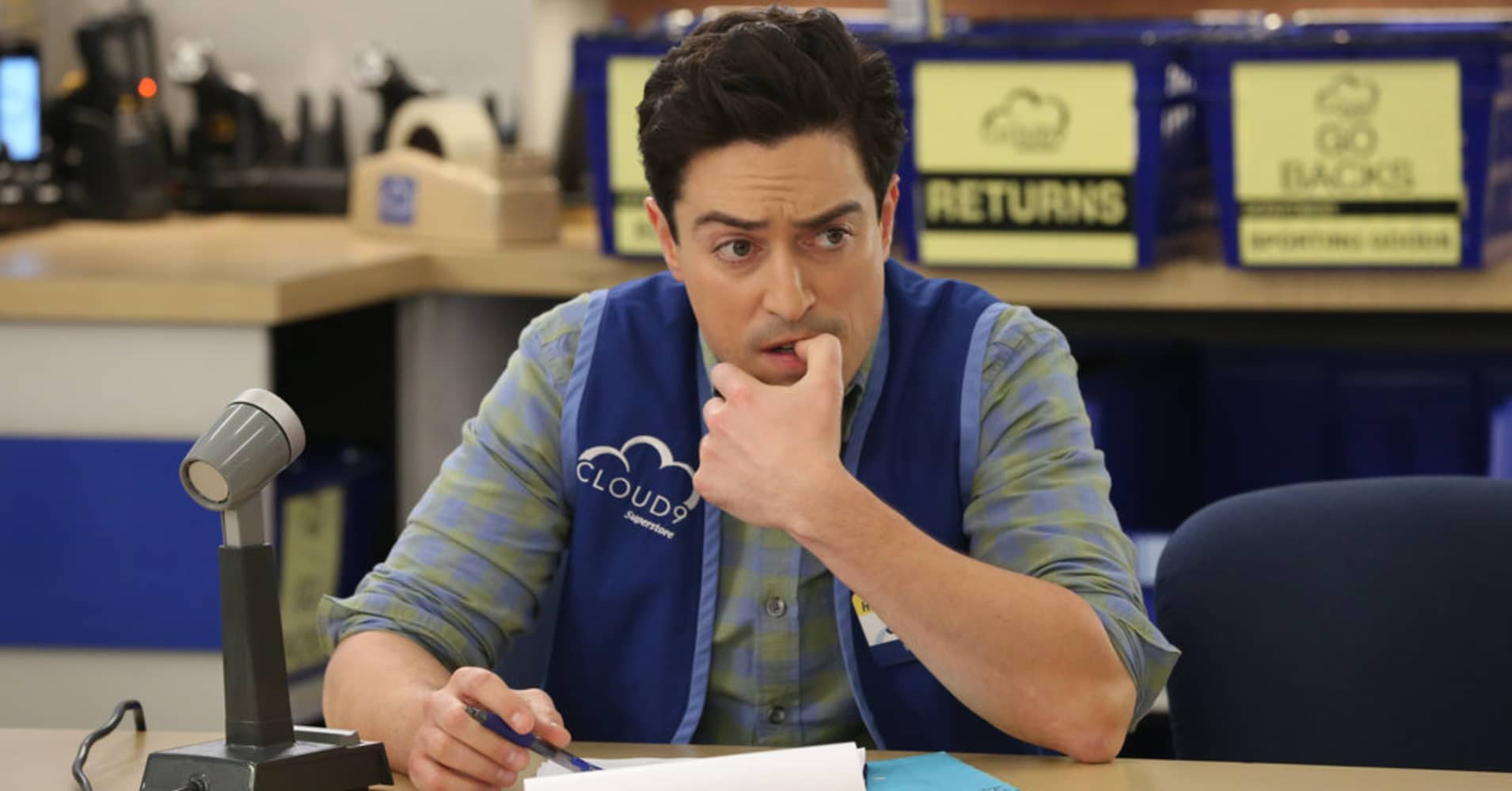 Ben Feldman as Jonah in Superstore