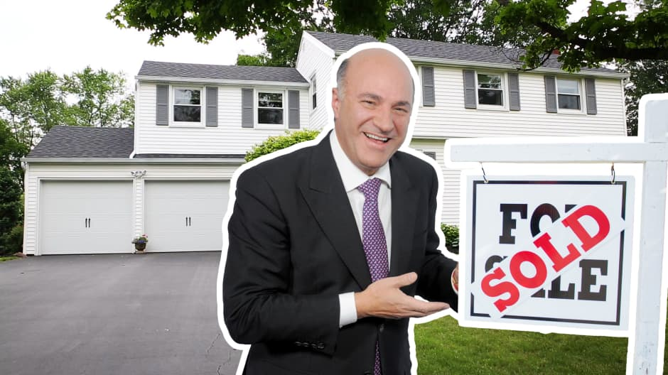 Kevin O'Leary says this is the best way to buy a home that makes you money