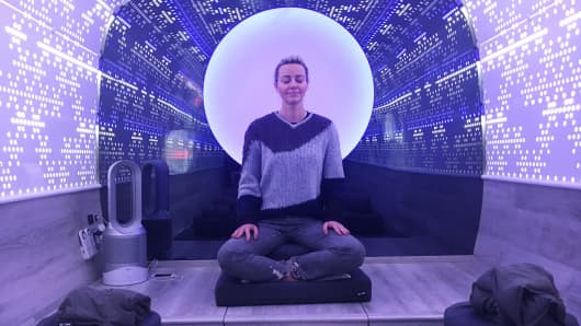 Carla Hammond is the owner of Be Time, a mobile meditation studio in New York City that launched this year.