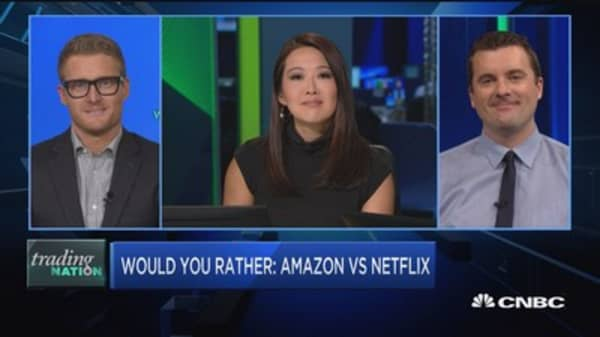 Trading Nation: Would you rather Amazon or Netflix?