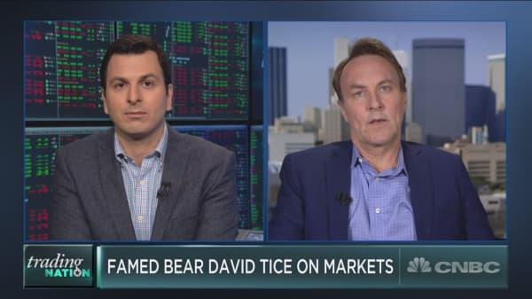 Famed bear David Tice on Bitcoin, the bull case for gold and more