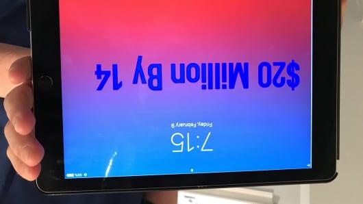 Andrew Courey's iPad home screen