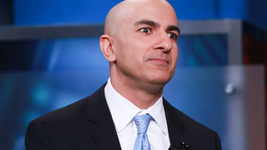 Neel Kashkari, president of the Minneapolis Federal Reserve, in an interview on February 17, 2016.