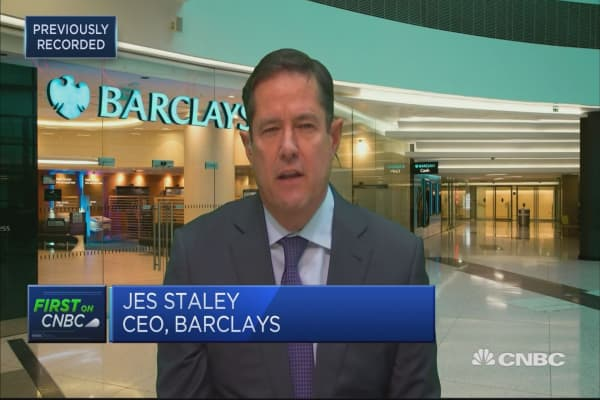 Barclays CEO: 2017 marked end of Barclays restructuring
