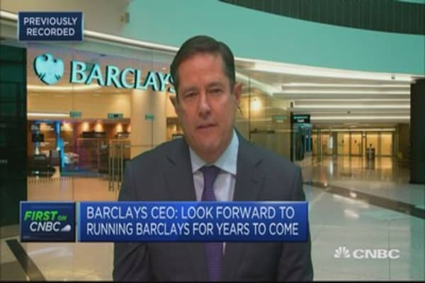 Barclays CEO: Markets to watch are credit markets