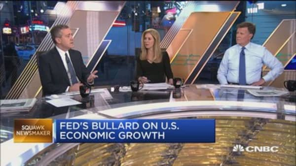 Fed's James Bullard on rate hike concerns