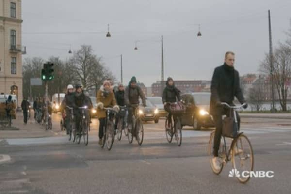 Welcome to Copenhagen, the city where cycling is king