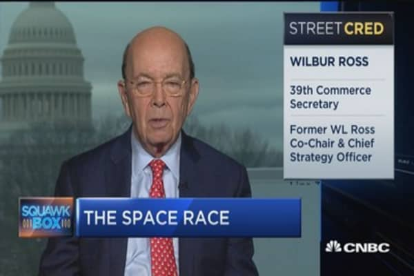 Wilbur Ross on space race: We want to turn the moon into a gas station