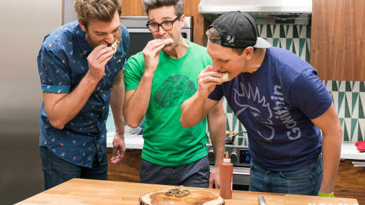 Good Mythical Morning's $255 Taco Bell Crunchwrap Supreme