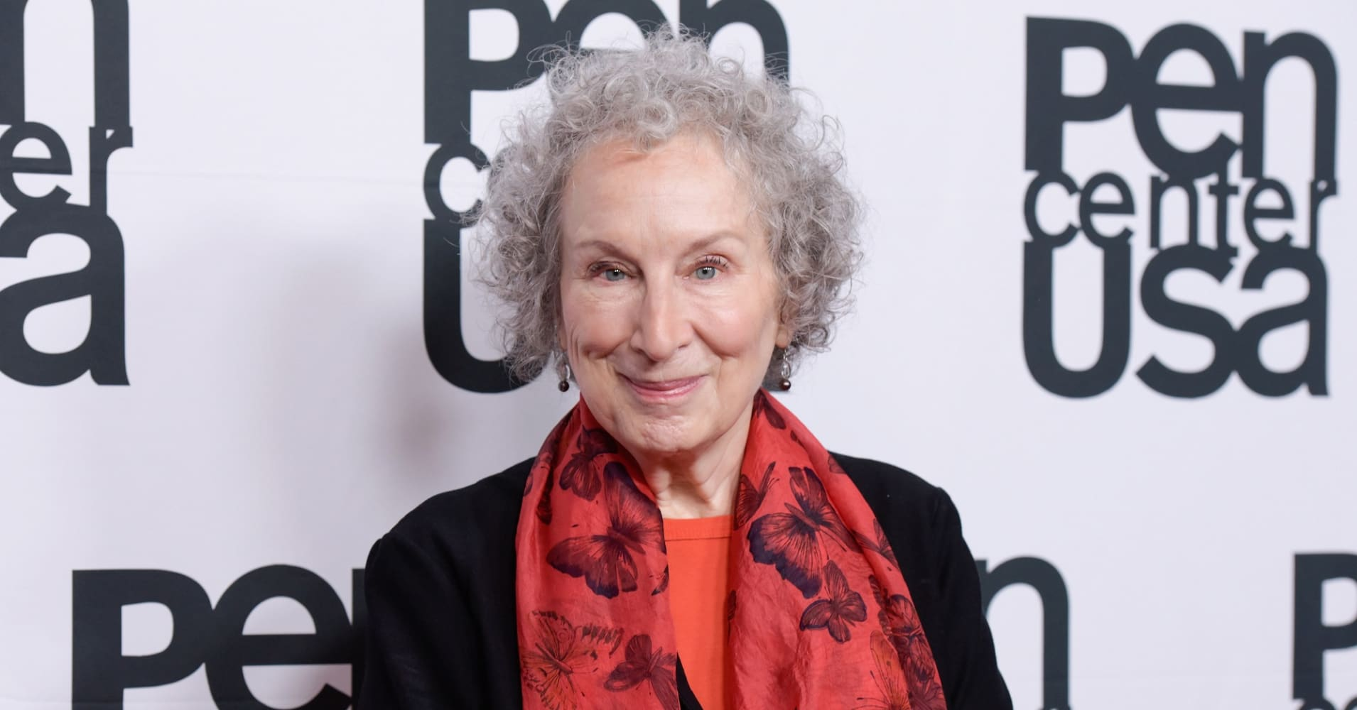 Margaret Atwood attends the PEN Center USA's 27th Annual Literary Awards Festival on October 27, 2017 in Beverly Hills, California.