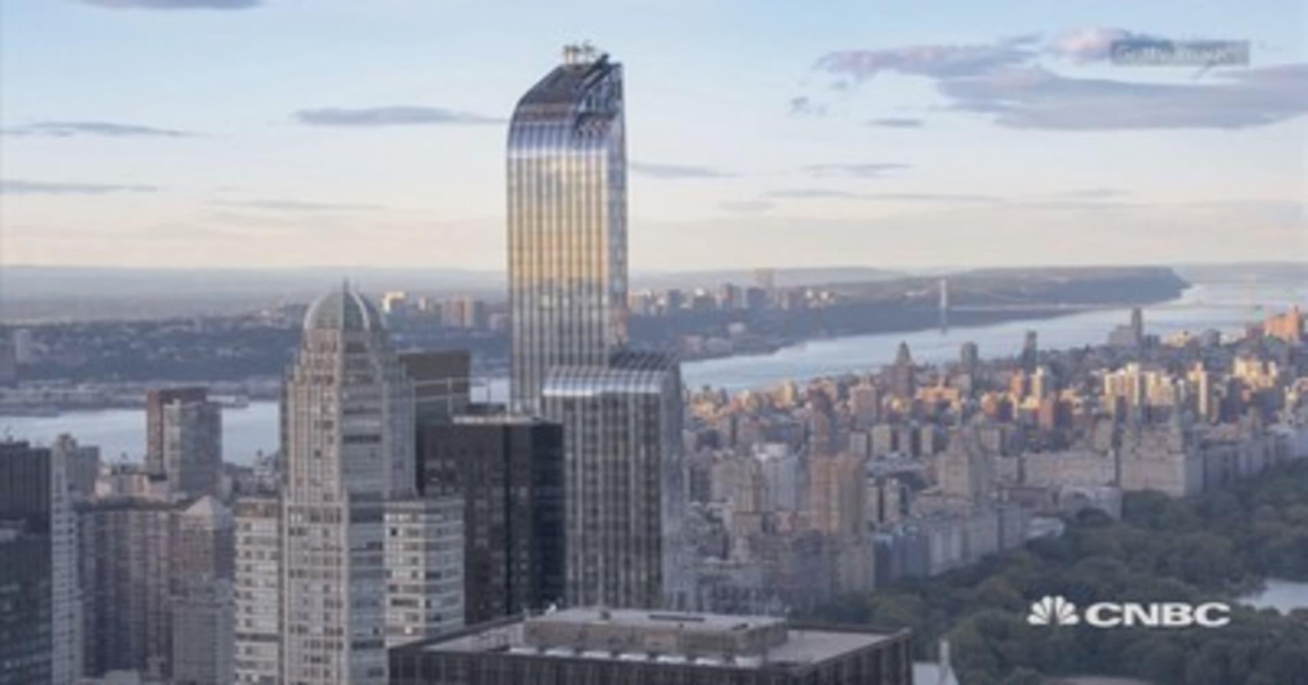 e74345bfa Michael Dell s  100 million penthouse breaks Manhattan records