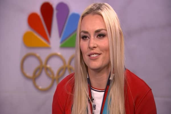 Three-time medal winner Lindsey Vonn on social media and sponsorships