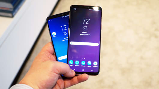 The Galaxy S9 and Galaxy S9+